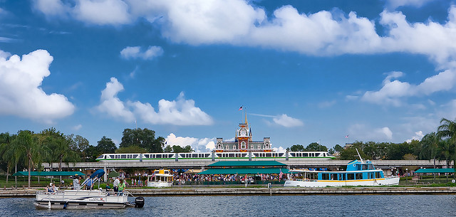 Disney World Monorail and Extra Magic Hours