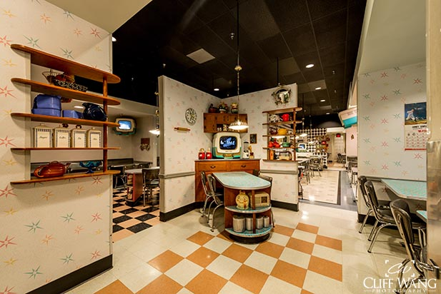 Take a trip back in time at 50's Prime Time Cafe