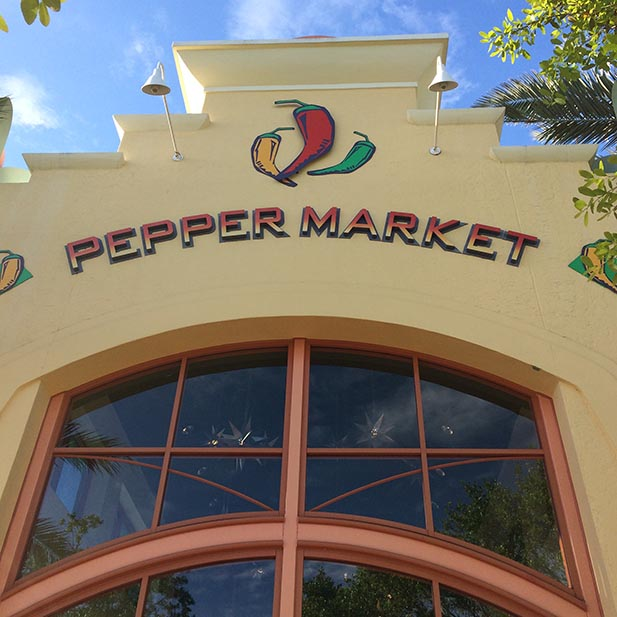 Pepper Market is an interesting place for a bite to eat