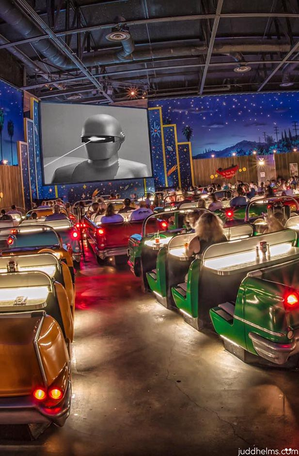 Sci Fi Dining In is one of the coolest of the Walt Disney World Restaurants