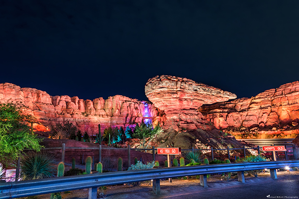 Dad's favorite part of Disneyland is Radiator Springs