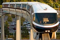 The best Disney World Transportation is the Monorail