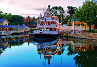 The Riverboat in the Magic Kingdom is a fun part of the Disney World Transportation system