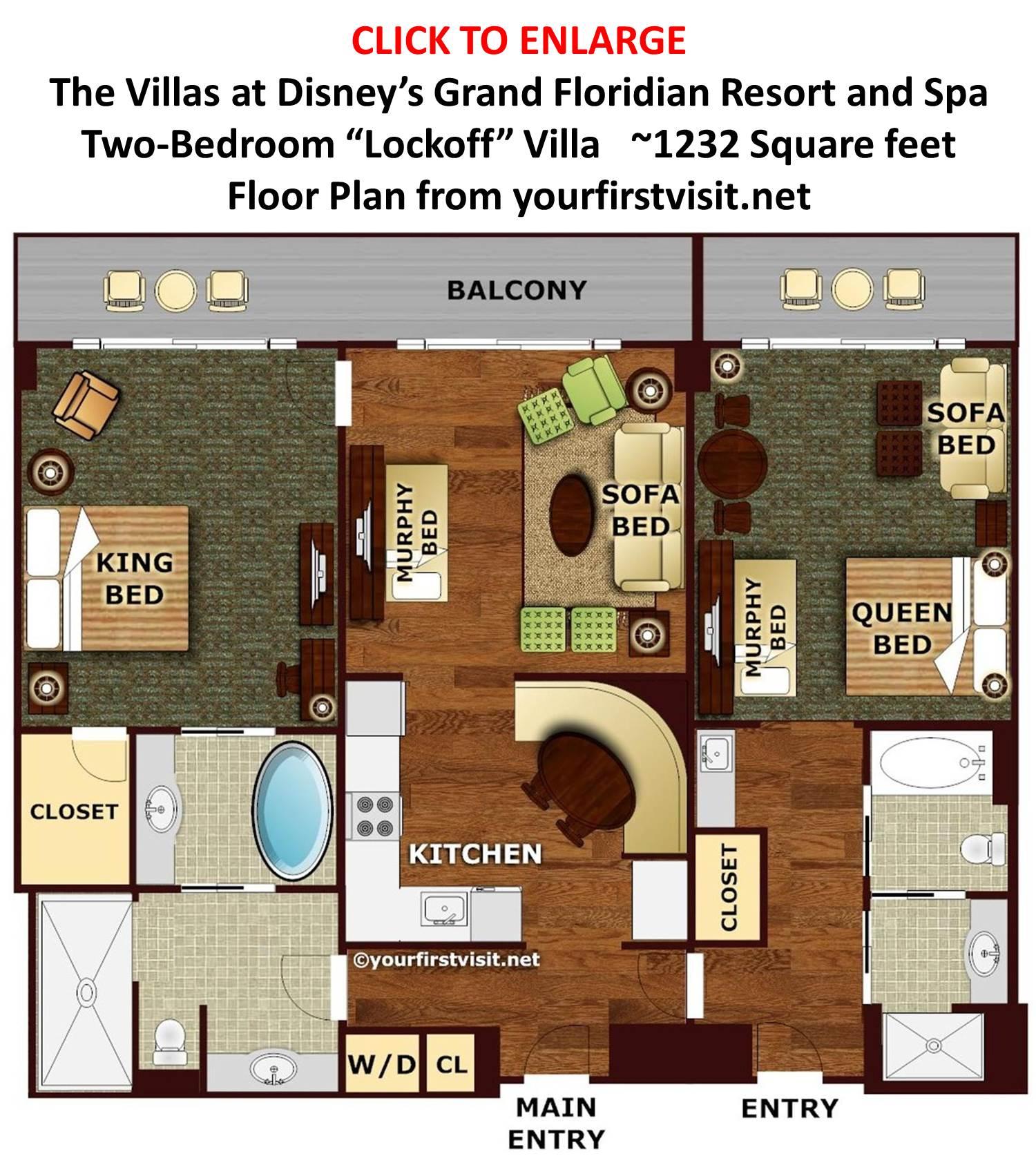 Disney Boardwalk 3 Bedroom Grand Villa