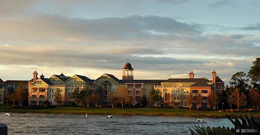 The Saratoga Springs from Disney Springs
