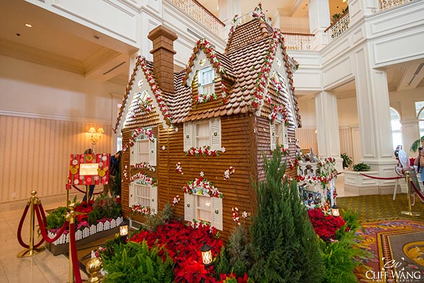 The Gingerbread House in the Grand Floridian Resort