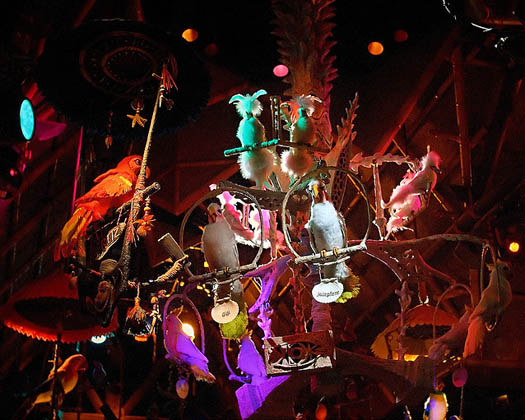 The Enchanted Tiki Room Sign