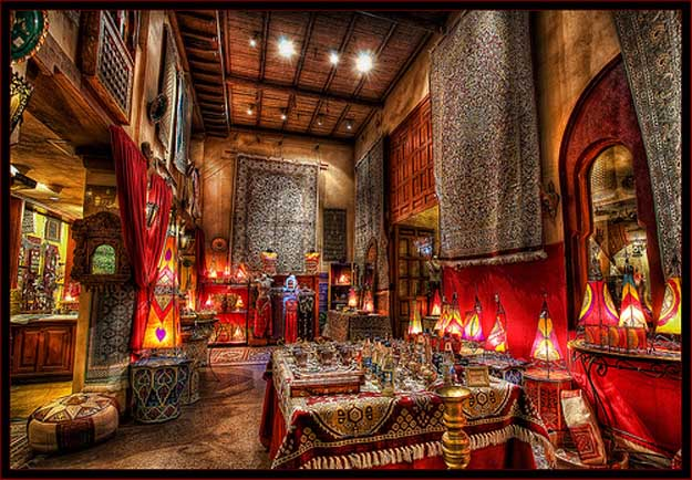The Bazaar in Morocco is more than just entertainment in an Epcot pavilion. It's a cultural exchange.