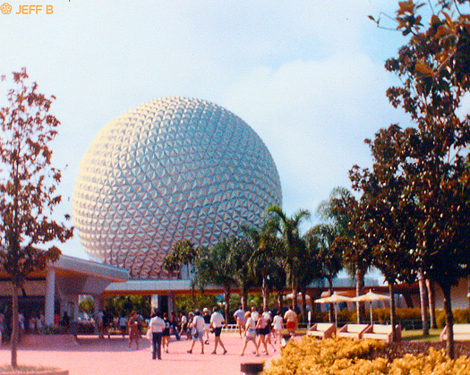EPCOT in 1983 before Gay Days