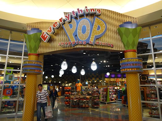 The entrance to Everything Pop