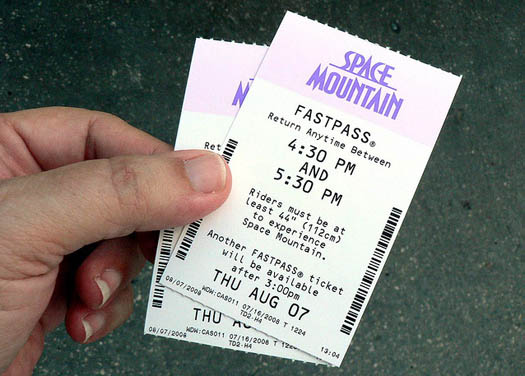 A FASTPASS for Space Mountain