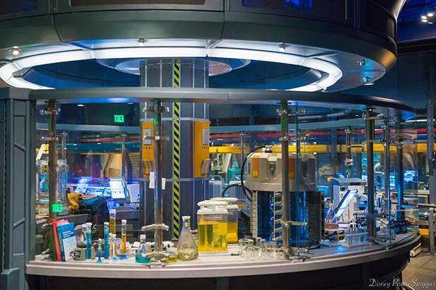 The amazing details of the lab at Flights of passage