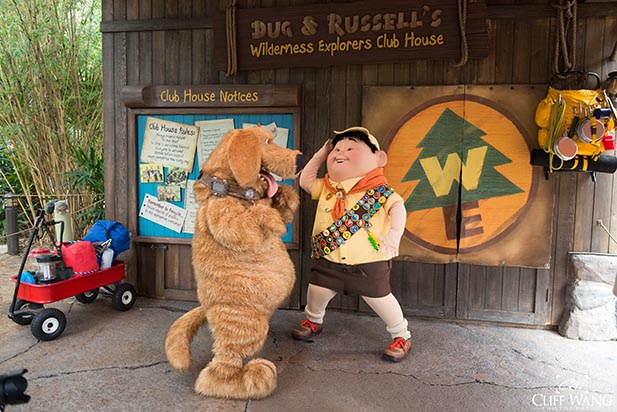 Doug and Russell are Wilderness Explorers at Animal Kingdom