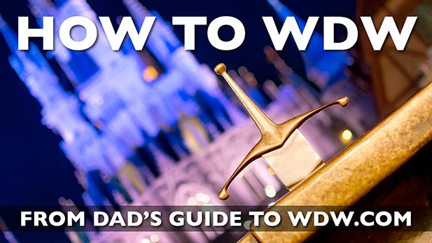 Dad's How to WDW banner