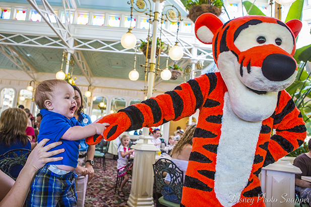 Trent and Tigger showing if Walt Disney World is magic or not