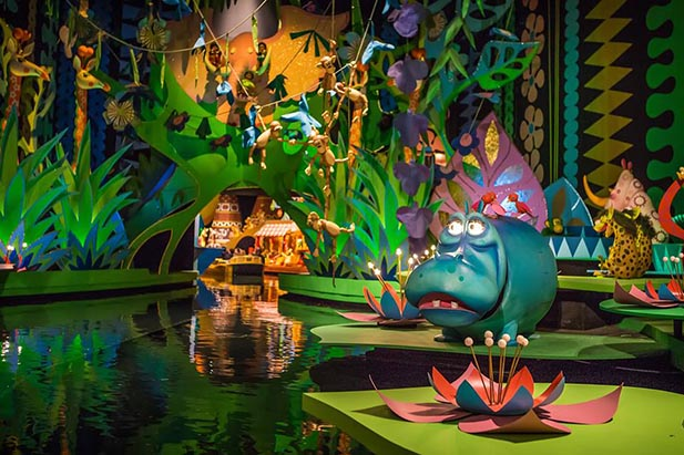 The hippo in It's a Small World