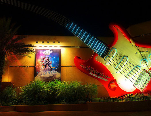 Rock n Roller Coaster is part of a kid friendly family vacation