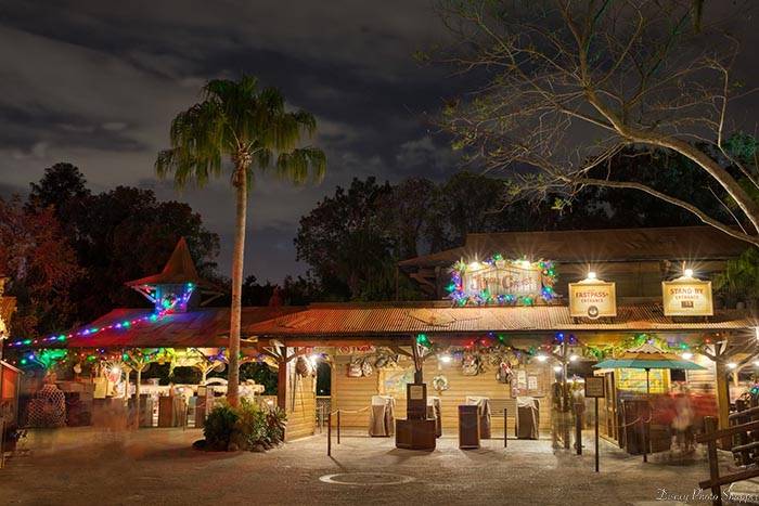 The Jingle Cruise Christmas Makeover
