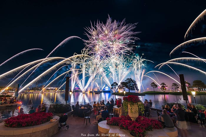 The Holiday ending of Illuminations is spectacular