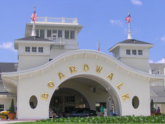 Staying at the Boardwalk Inn using a Magic Your Way or Room Only Package