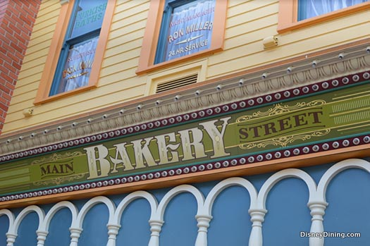 Main Street Bakery - good eats on Main Street USA