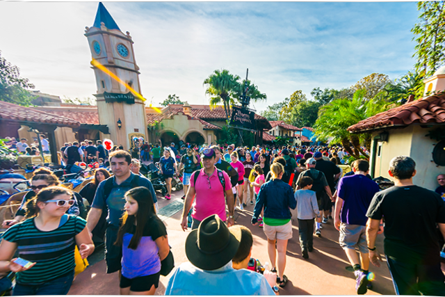 Crowds at WDW