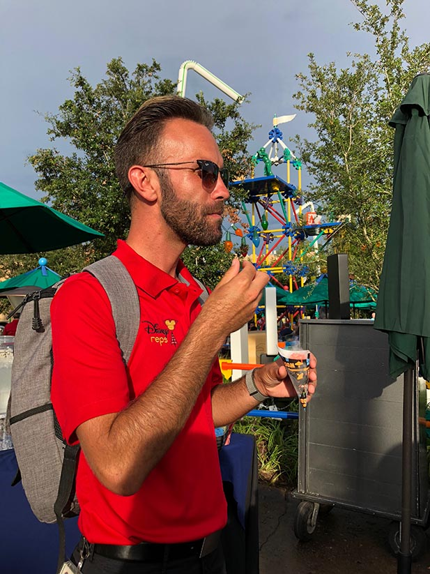 Forrest, my Disney Guide for the Toy Story Land Media Event