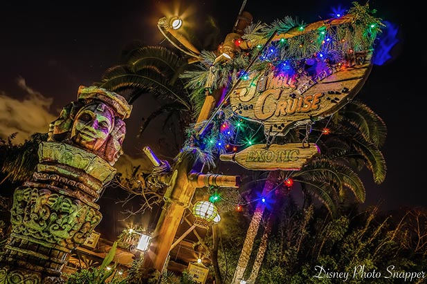 Christmas at WDW means the Jingle Cruise