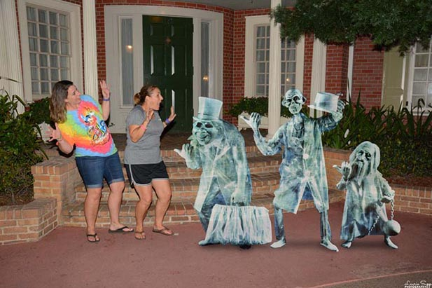 A Memory Maker shot of Hitchhiking Ghosts