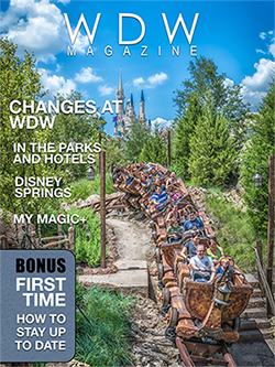 The Changes at WDW issue of WDW Magazine