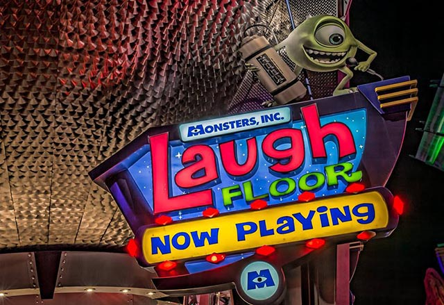 Monsters Inc Laugh Floor - Tomorrowland