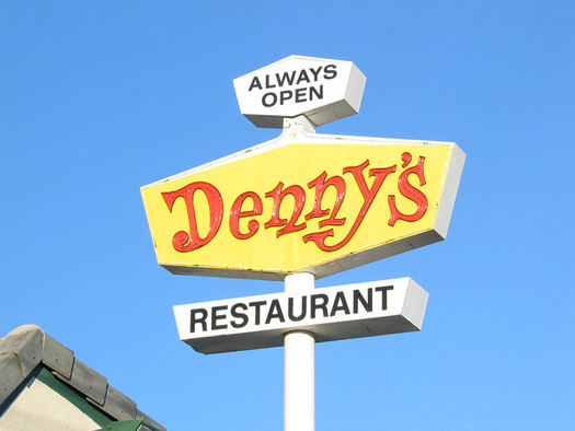 In Orlando the Kids Eat Free promotions are good at Denney's