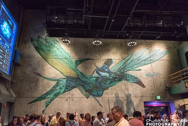The banshee on the wall in Flight of Passage