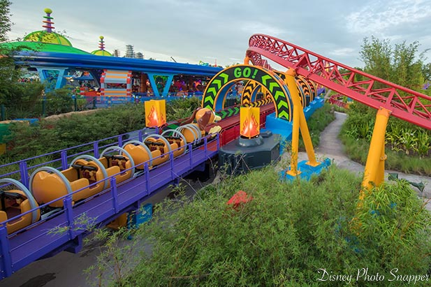 Slinky Dog is getting ready for the launch