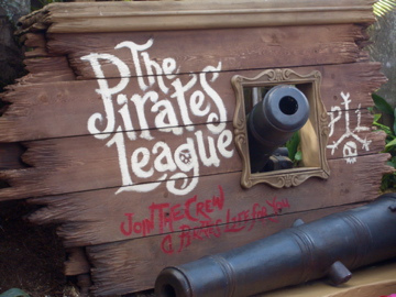 The Pirates League will stay open for Mickey's Not So Scary Halloween Party