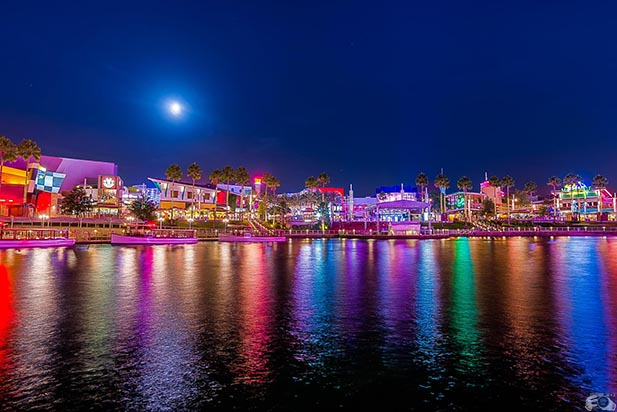 Planning a Disney Vacation might include a trip over to City Walk at Universal