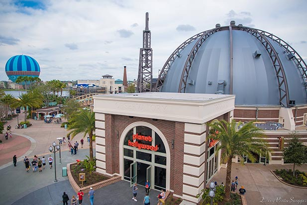 Planet Hollywood at Disney Springs