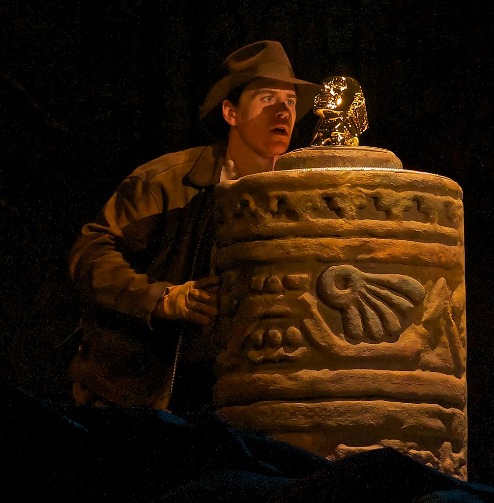 Find times for the Indiana Jones show when planning a Disney World vacation