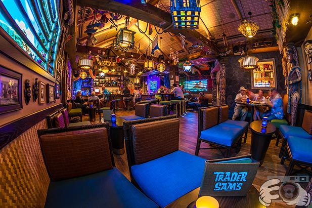 Trader Sam's is open