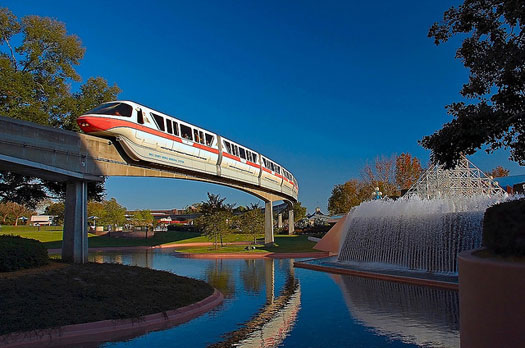 The Disney World Monorail is Dad's number one ride recommendation at Disney World