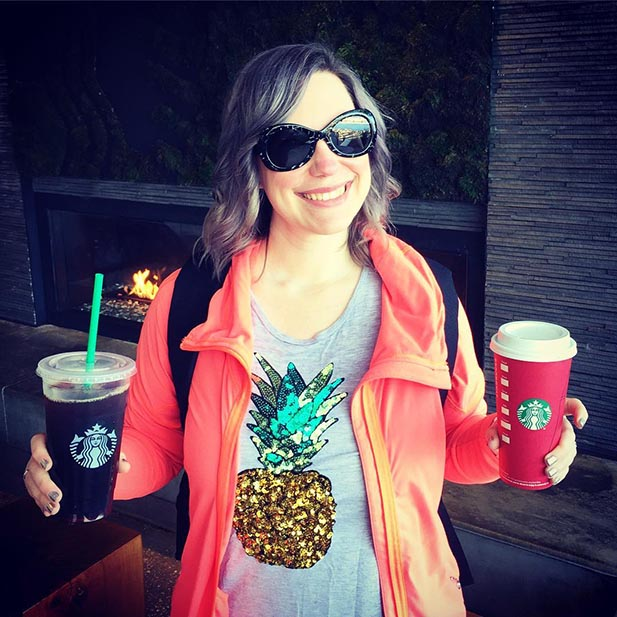 Age old question? Hot drink or cold drink to stay warm at Walt Disney World. Stephanie tried both