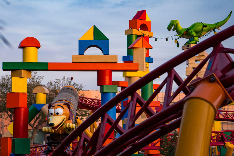 Slinky Dog Roller Coaster is coming to Toy Story Land