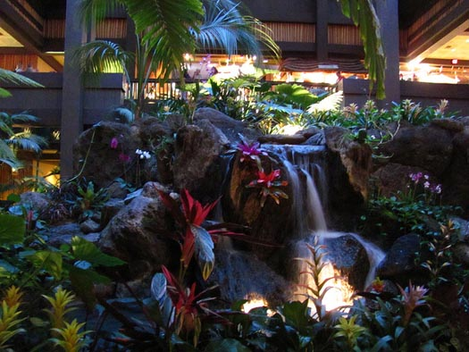 The Polynesian Resort Lobby