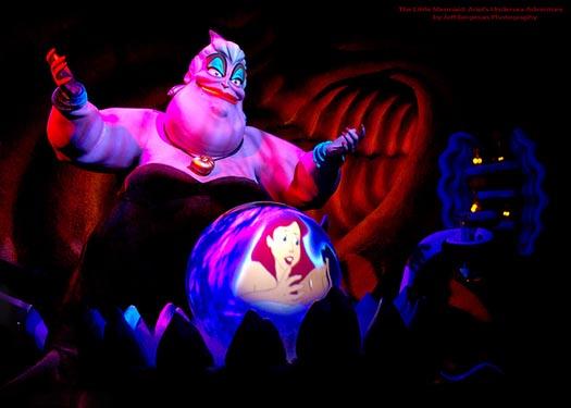 Urusula captures Ariel's voice