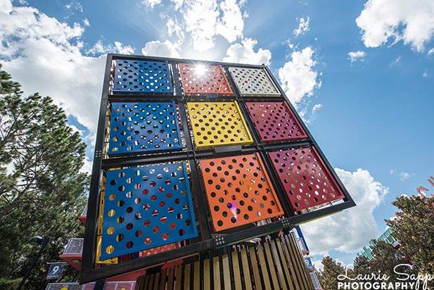 The Rubic's Cube at the Pop Century