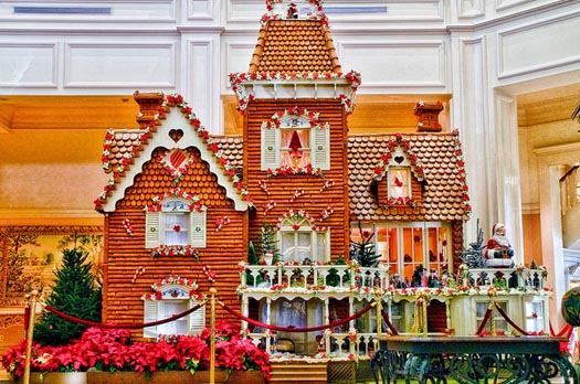 The Gingerbread House in the Grand Floridian