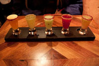 Drinks from La Cava in the Mexico pavilion in the World Showcase