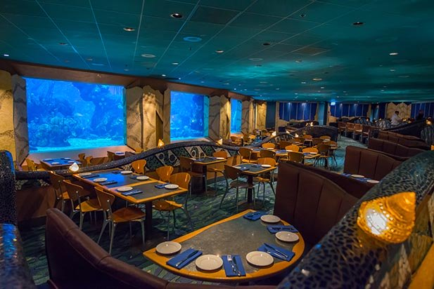 Coral Reef Restaurant is on the Disney Dining Plan