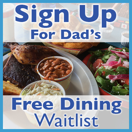Free Dining Waitlist ad
