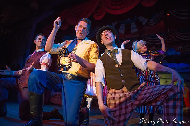 The Cast of the Hoop Dee Doo Revue